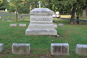William L. Greenly - Greenly grave