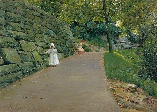 William Merritt Chase - In the Park