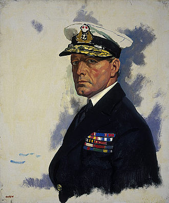 David Beatty, 1st Earl Beatty - Portrait of Beatty by William Orpen
