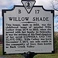 Willow Shade Historical Marker.jpg