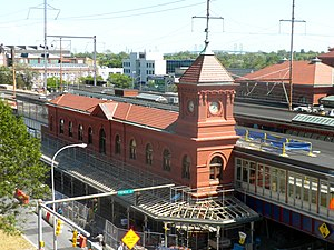 Wilmington station (Delaware) - The station in 2010 during renovation
