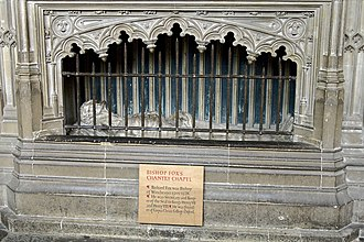 Richard Foxe - Foxe's tomb in Winchester Cathedral