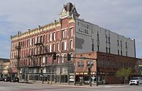 Windsor Hotel (Garden City KS) from NE 1.JPG