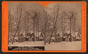 Cresson, Pennsylvania - Image: Winter at Cresson, summer resort, on the P. R. R. among the wilds of the Alleghenies, by R. A. Bonine 10