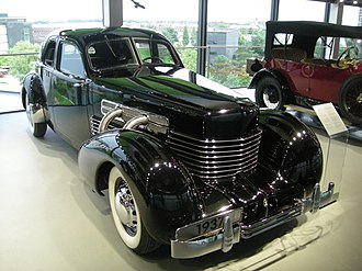 Cord 810/812 - Supercharged 1937 Cord 812 Sedan