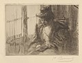 Woman Reading Before a Window (La liseuse devant la fenêtre) MET DP834432.jpg