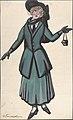 Woman wearing a blue-green suit MET DP804833.jpg