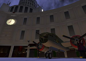 Education in Second Life - Woodbury University's virtual campus