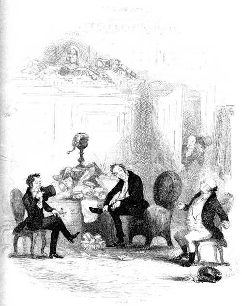 Works of Charles Dickens (1897) Vol 2 - Illustration 1