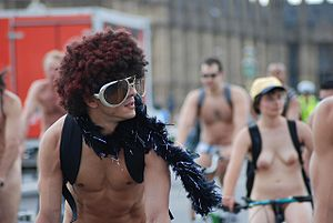 World Naked Bike Ride 2009 London.jpg