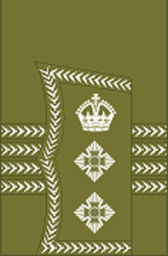 Colonel (United Kingdom) - Image: World War I British Army colonel's rank insignia (sleeve, general pattern)