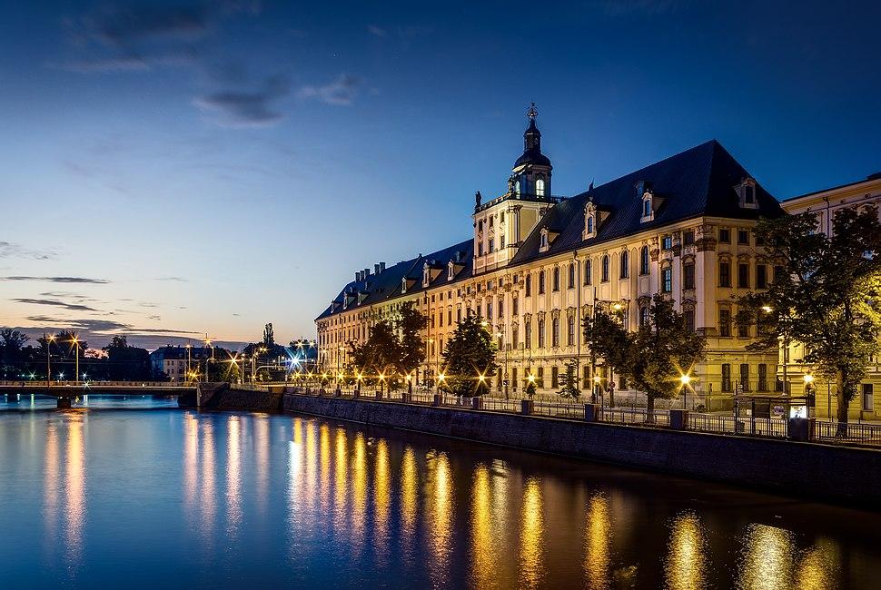 Wroclaw Uniwersytet Wroclawski przed switem
