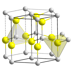 Krystalová struktura oxidu beryllnatého