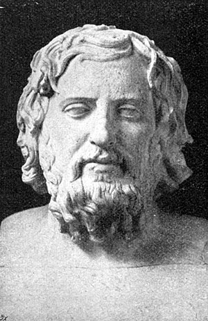 Xenophon - The Greek historian Xenophon of Athens.