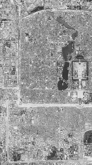 Xicheng District - Satellite image of Xicheng District.  (1967-09-20)