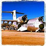 YC-14 prototype, couldn't beat Hercules. Pima AZ (8201485868).jpg