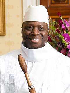 Yahya Jammeh 2nd President of the Gambia