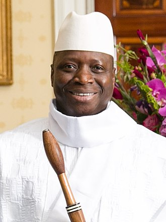 Gambian presidential election, 2016 - Image: Yahya Jammeh