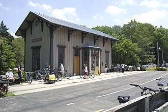 Yellow Springs, Ohio - Former railroad station