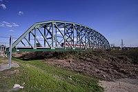 Yodogawa Railway bridge of Kintetsu 002 KYOTO JPN.jpg