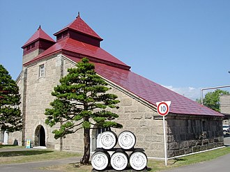 Nikka Whisky Distilling - One of the buildings of Yoichi Distillery.