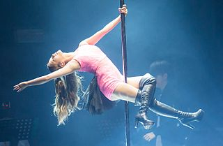 Pole dance Form of performing art