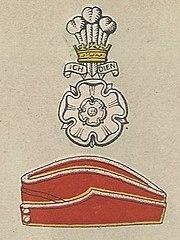 Yorkshire Hussars badge and service cap.jpg