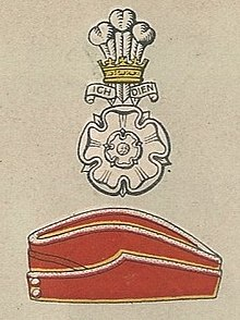Yorkshire Hussars badge and service cap.jpg