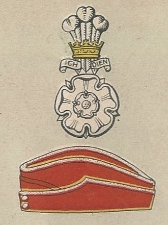 Yorkshire Hussars - Badge and service cap as worn at the outbreak of World War II