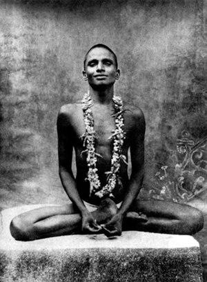 Bhagawan Nityananda - Bhagawan Nityananda as a young yogi
