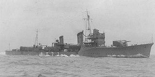 Japanese destroyer <i>Yūdachi</i> (1936)