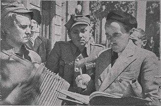 Leonard Buczkowski - Image: Zakazane Piosenki Leon Pietraszkiewicz, Czesław Piaskowski, Leonard Buczkowski 2