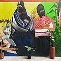Zapatistas en mural Centro Prodh.jpg