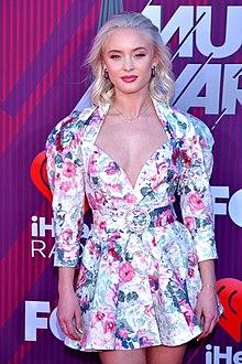 9ed7b8975f156c Zara Larsson - Wikipedia