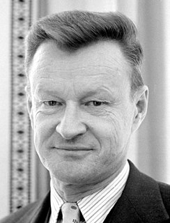 Zbigniew Brzezinski Polish-American political scientist