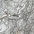 Zelen, 1910—1916, map.jpg
