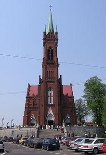 Zgierz Place in Łódź, Poland