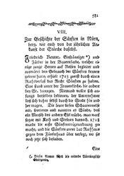 Zur Geschichte der Sänften in Nürnberg, wie auch von der jährlichen Ankunft der Störche daselbst, S. 581-583