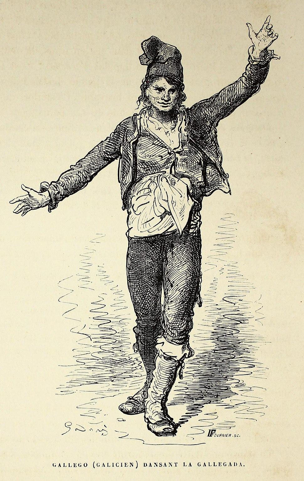 """Gallego (galicien) dansant la gallegada"" (19749113588)"