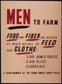 """Men to Farm. Food and fiber are needed as never before"" - NARA - 515001.tif"