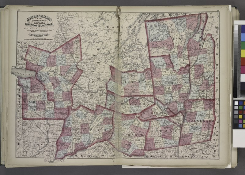 "File:""Oneida, Madison, Otsego, Fulton, Montgomery, Schenectady, Albany, Schoharie, Warren, Saratoga, Washington, and Rensselaer Counties"" NYPL1575782.tiff"