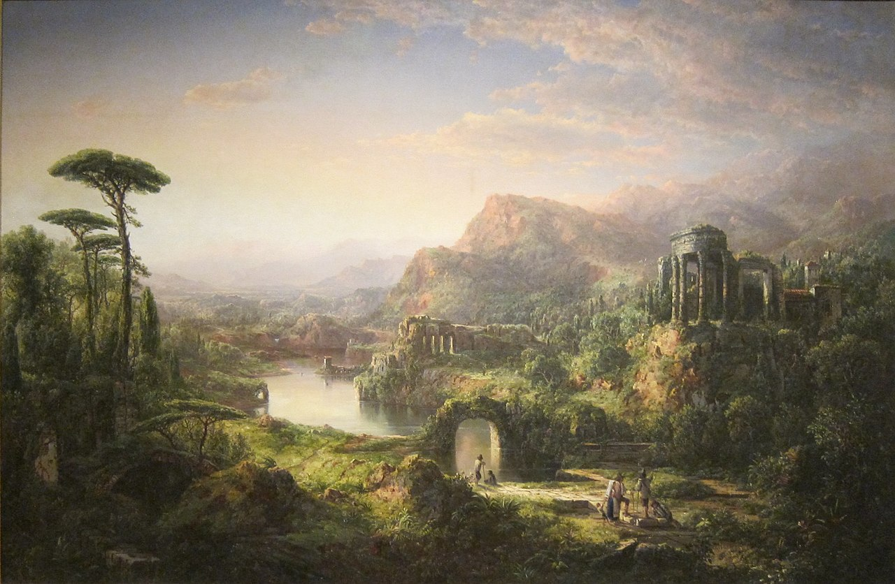 File:'Dream of Italy' by William Louis Sonntag, Dayton Art ...