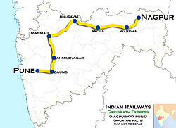 (Nagpur - Pune) Express Route map.jpg