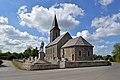 Église Notre-Dame-de-l'Assomption de La Chapelle-Urée. Vue sud-est.jpg