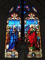 Église Saint-Romain de Saint-Sauvant, vitrail 6.JPG