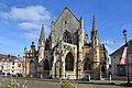 Église Sainte-Trinité de Falaise. Vue ouest.jpg