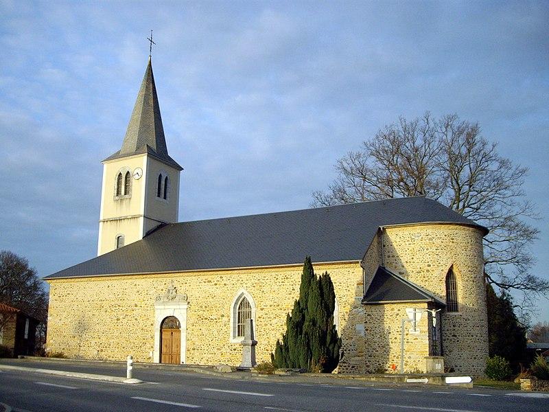 Église de la Nativité-de-la-Sainte-Vierge de Pinas (65)