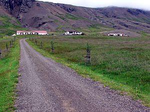 Breiðdalshreppur - Image: Þorgrimsstadir 1