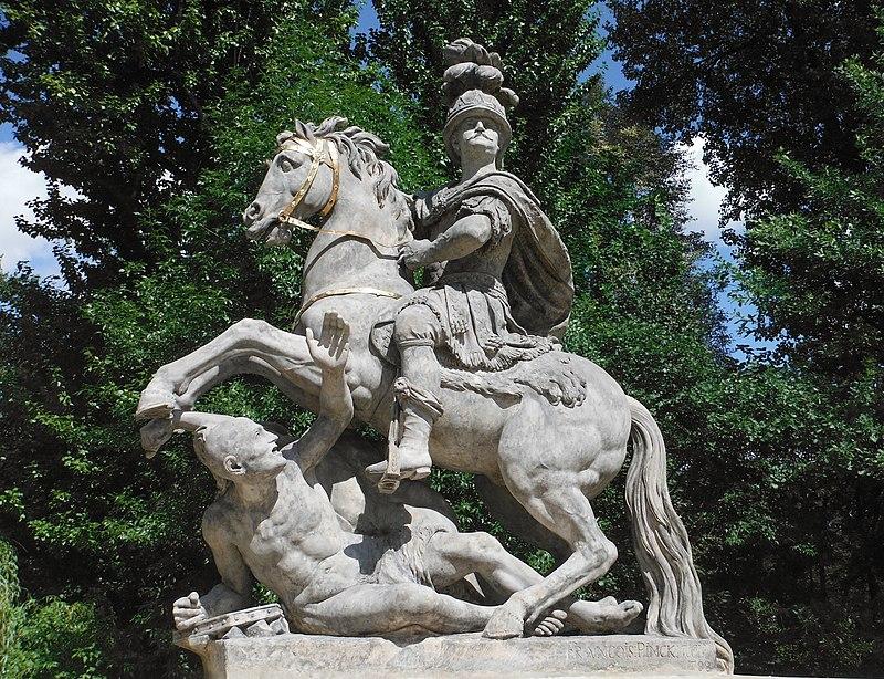 Pomnik Jana III Sobieskiegow Warszawie