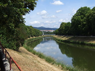 Nitra (river) - Nitra in Nitra